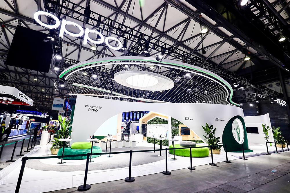 OPPO於MWC 2021上海登場,詮釋以「融慧 致善」為主題的智慧融合景象