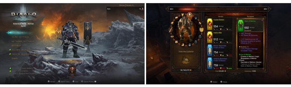 SWITCH遊戲 暗黑破壞神 3:永恆之戰
