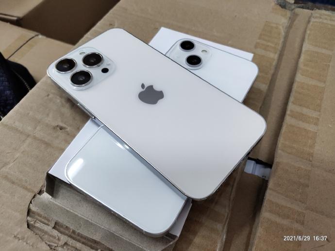 【快訊】iPhone13 模型機曝光?鏡頭成對角排列 瀏海也被剪了