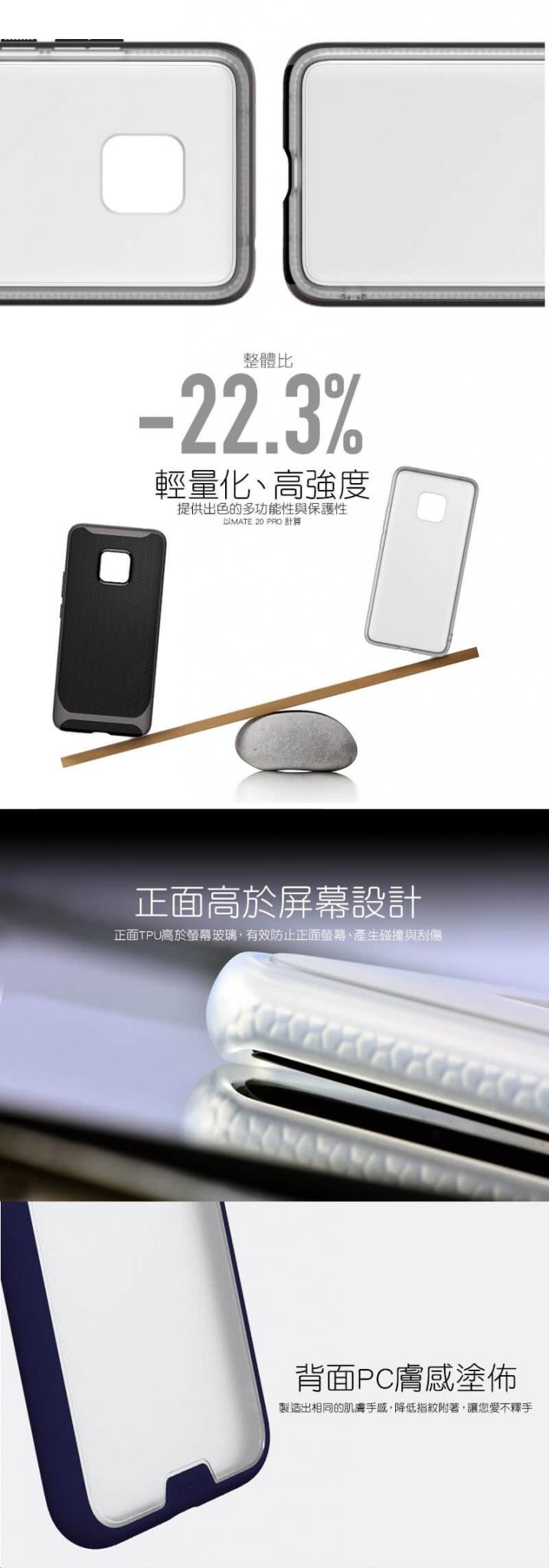 HODA 柔石軍規防摔殼 iPhone 11