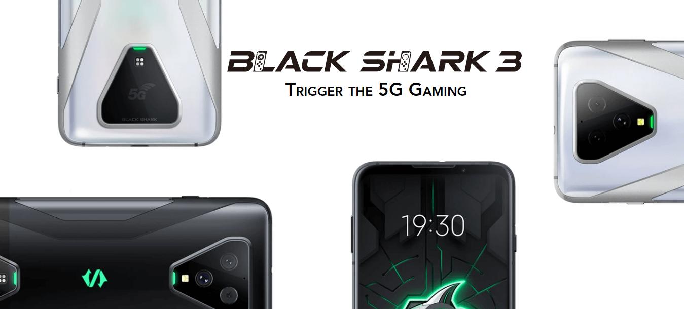 BLACK SHARK 黑鯊3