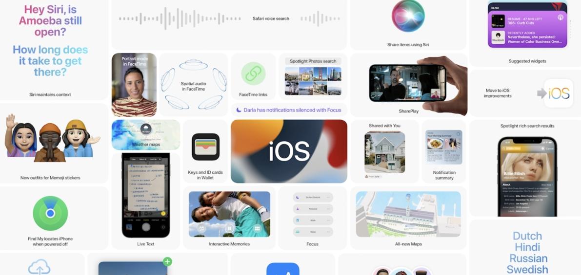 【快訊】蘋果iOS15更新更注重「社交」 新增多款功能威脅FB、IG地位