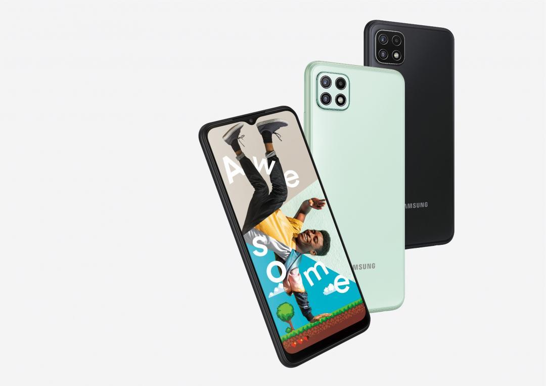 【快訊】三星入門5G手機 Galaxy A22 來了!大螢幕、大容量 7000 有找
