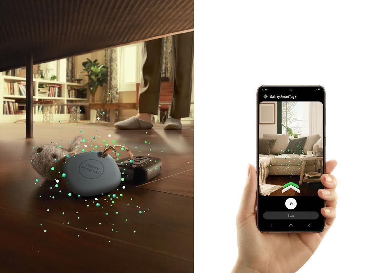 【快訊】就是不要輸蘋果!三星藍芽追蹤器SmartTag+ 宣布登台