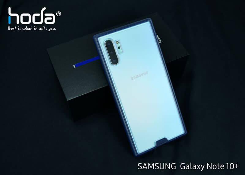 HODA 柔石軍規防摔殼 Samsung Note10+