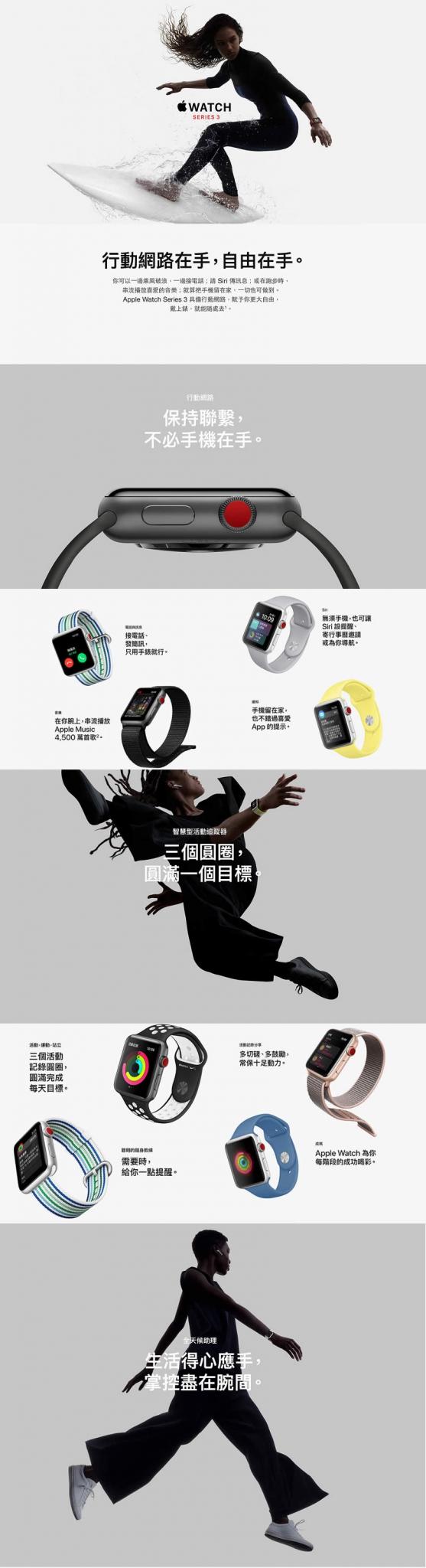 Apple Watch S3(LTE+NIKE)