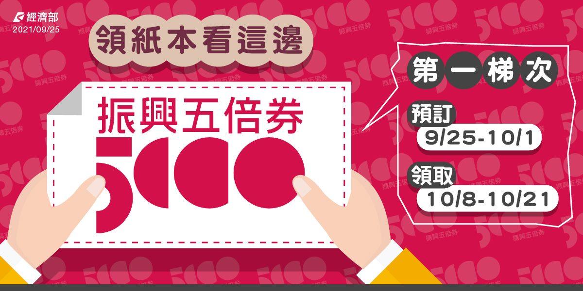【科技新知】紙本五倍券如何預約?官網、超商預約方式看這裡!