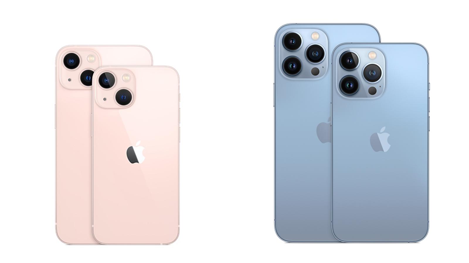 【機型比較】iPhone 13全系列大PK!4款外觀規格差異一次看!