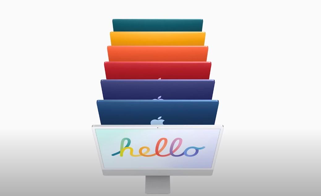 【手機專知】2021年新款iMac亮相!7款彩虹色/規格特色一次看!