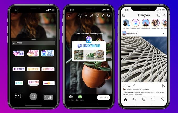 【科技新知】Instagram(IG)的「力挺小商家」貼紙是什麼?要如何使用?