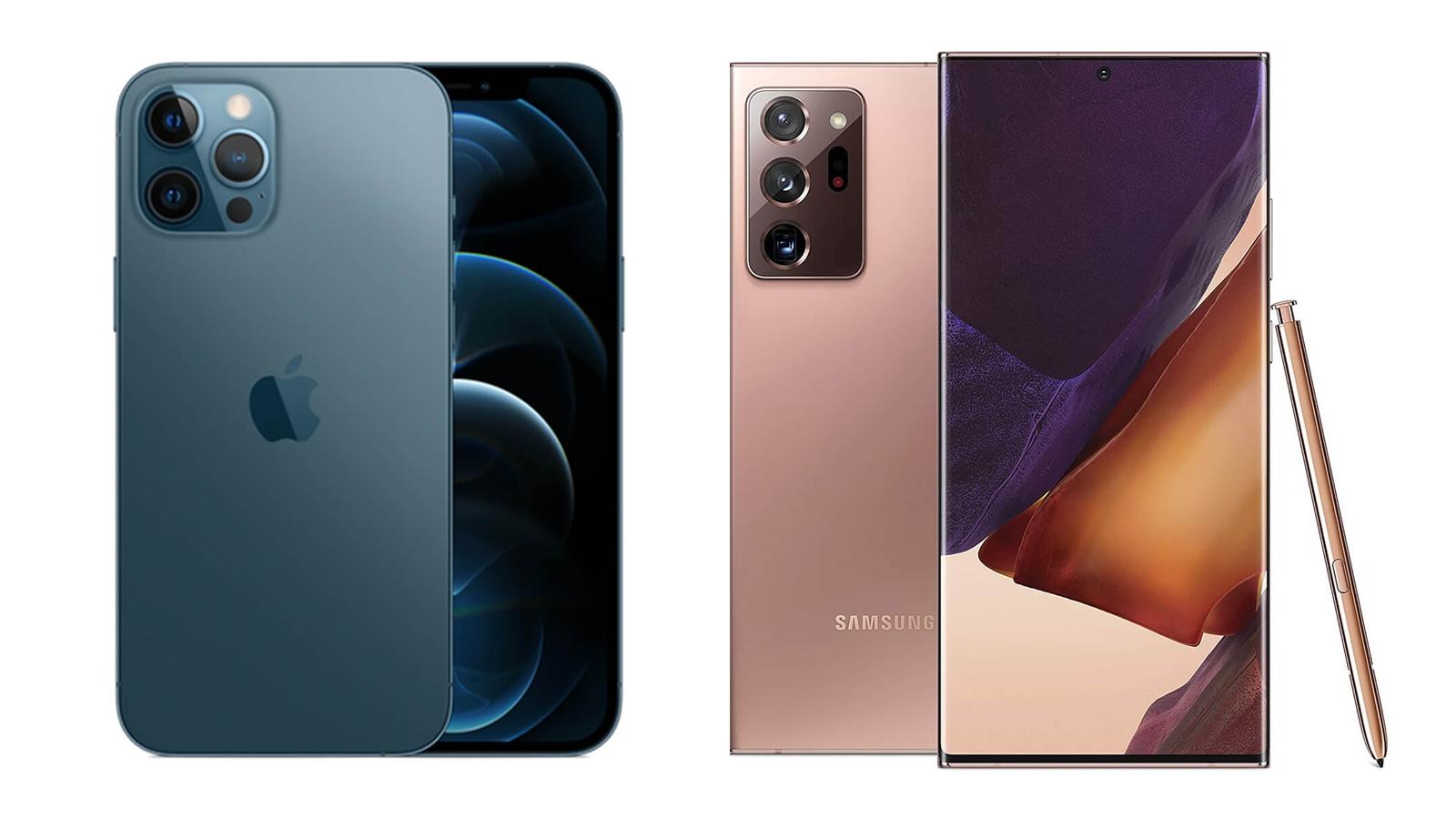 【手機專知】iPhone 12 Pro Max跟三星Note20 Ultra的不同差異為何?消費者該怎麼選擇?