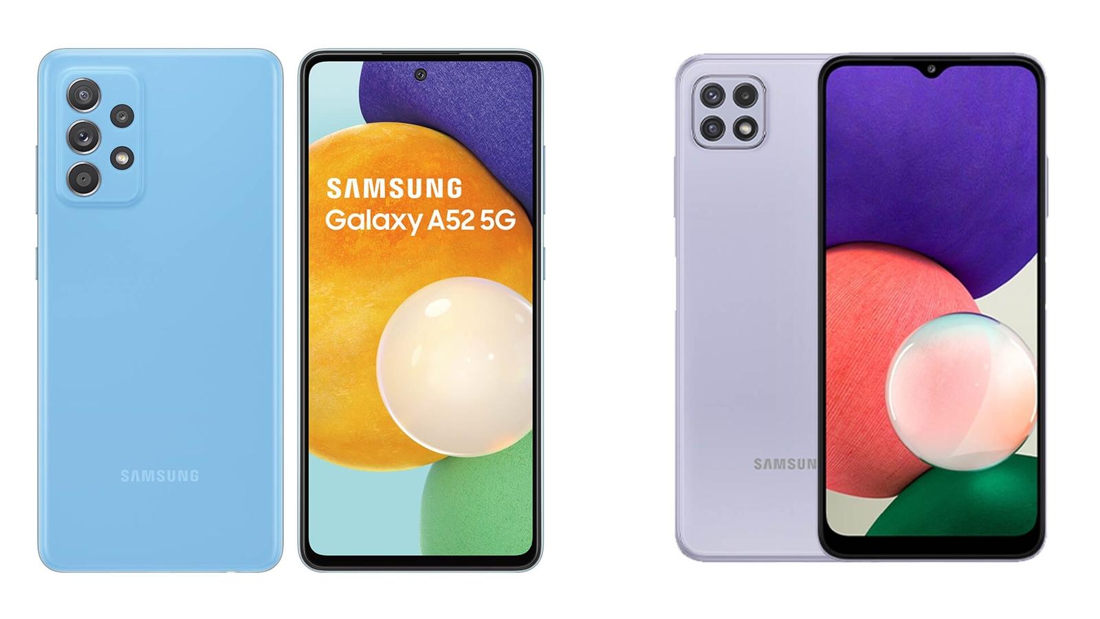 【手機專知】三星A22跟A52的不同差異為何?消費者該怎麼選擇?