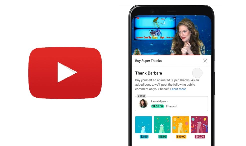 【科技新知】YouTube「超級感謝」是什麼?如何啟用斗內新功能?