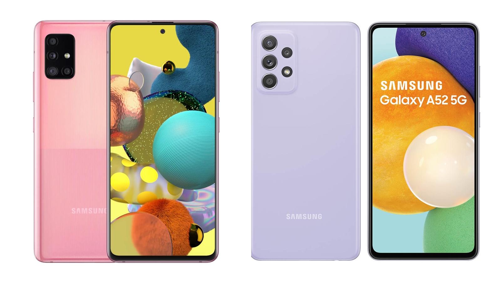 【手機專知】三星A52跟A51 5G的不同差異為何?消費者該怎麼選擇?
