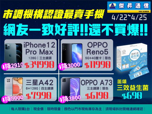 全台最賣手機iPhone 12現折3千 新色預購最高省2千